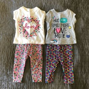 Carter's Baby girl 3mo outfits